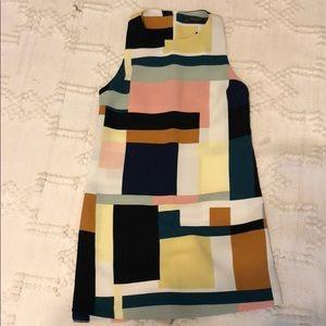 Zara dress w/ built in shorts
